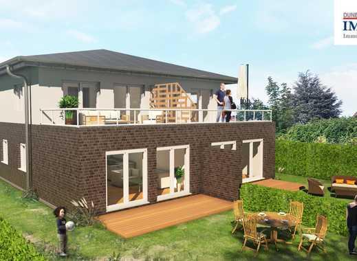 Baugrundstücks-Hälfte für 1 DOPPELHAUS-HÄLFTE in guter Lage