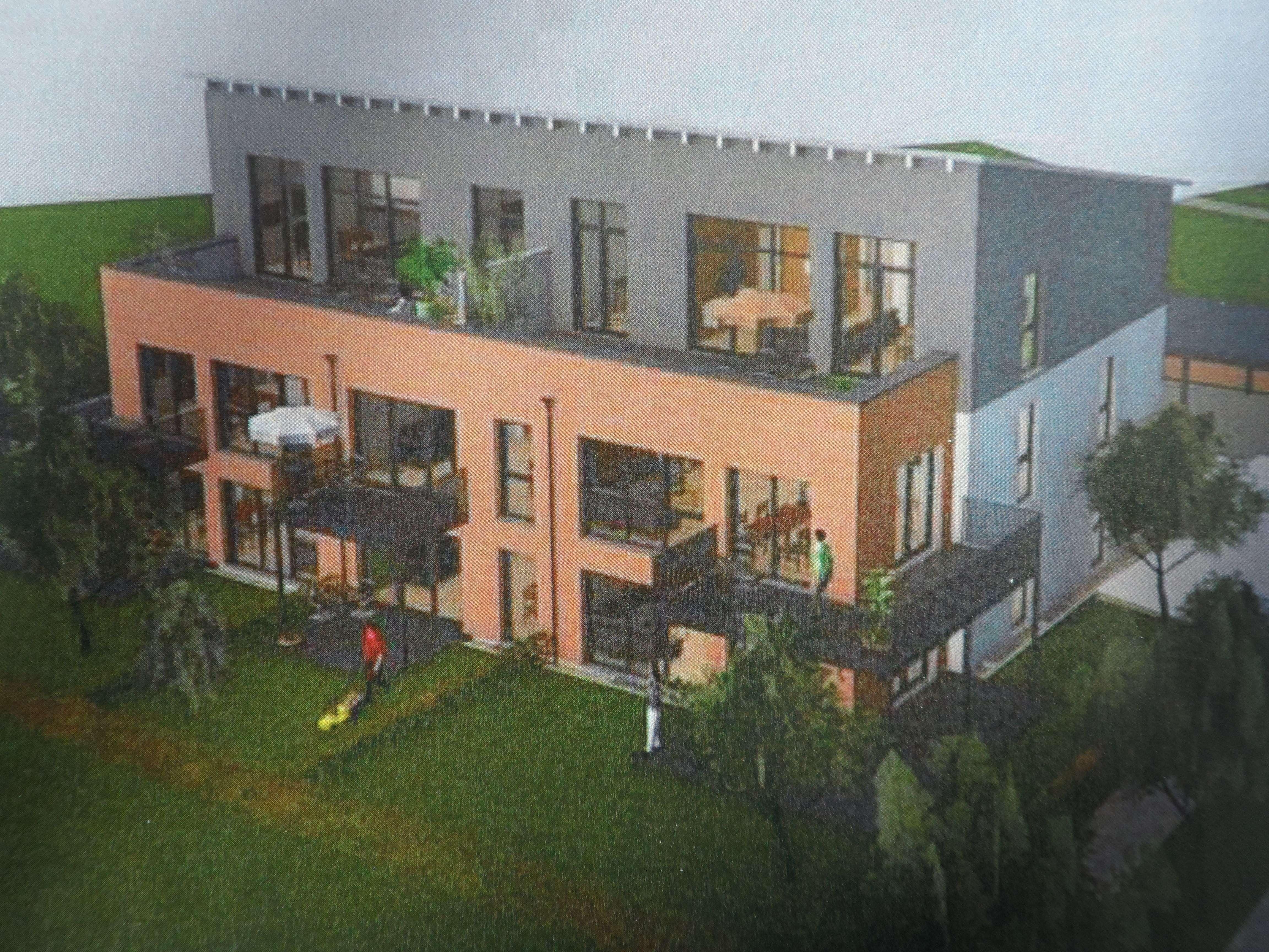 3-Zimmer Penthouse Wohnung in Architektenhaus (KfW 40 Effizienzhaus) in