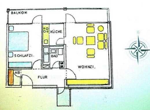 950 €, 62 m², 2 Zimmer