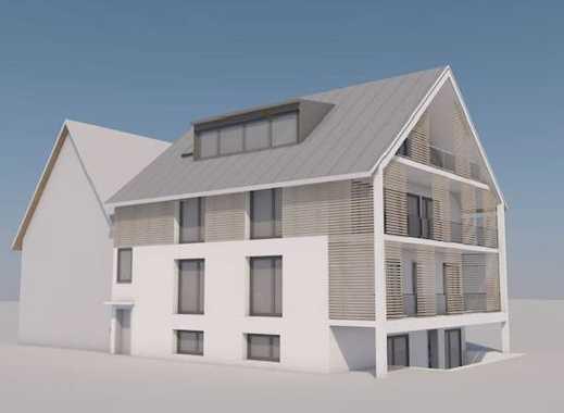 Erstbezug mit EBK und Balkon: stilvolle 4-Zimmer-Erdgeschosswohnung in Reichenau