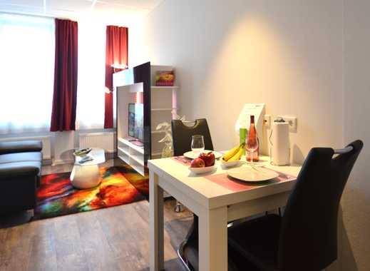 Möbliertes Apartment, voll ausgestattet, modern, zentrale Lage Nahe in Niederrad