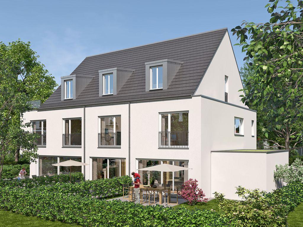 reiheneckhaus rh1 mit sechs zimmern in traumlage m nchen. Black Bedroom Furniture Sets. Home Design Ideas