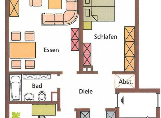 Helle 3-Zimmer Wohnung in Bergheim mit Balkon Erstbezug nach Sanierung