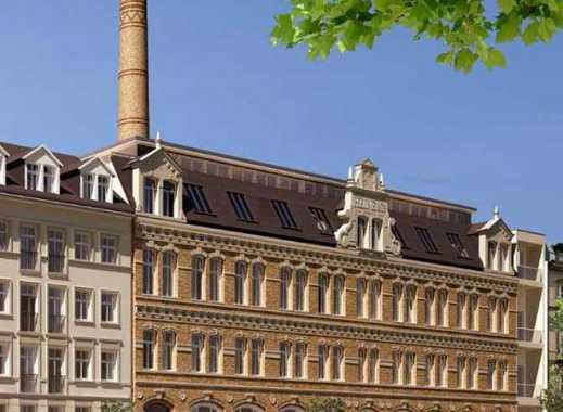 Großzügige, exklusive 2-Raum-Maisonette-Wohnung mit Kamin und Terrassen