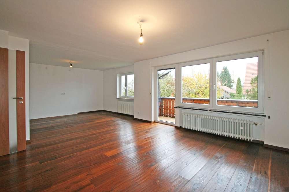 Helle 4-Zimmer-Wohnung mit Südbalkon im 2-Familienhaus in ruhiger Lage von Hurlach in