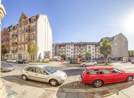 """""""""""Pkw-Stellplatz"""""""" in der Dresdner Neustadt"""