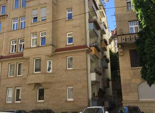 Sanierte 3-Zimmer-Wohnung mit Balkon und Einbauküche in Stuttgart-Süd