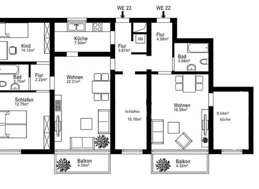 ***Geräumige 5-Zimmer Wohnung***
