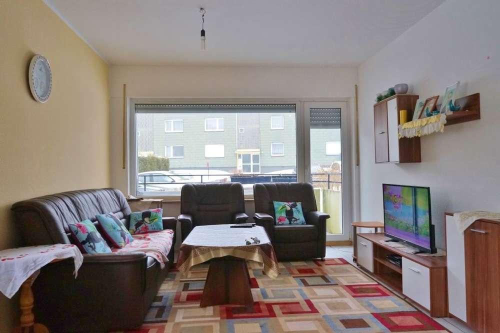 2-Zimmer-EG-Wohnung, barrierefrei mit Balkon: ideal für Kapitalanleger, Singles und Paare
