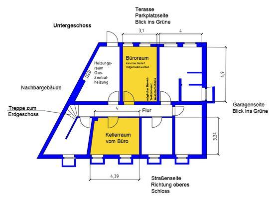 Grundriss Büro UG neu