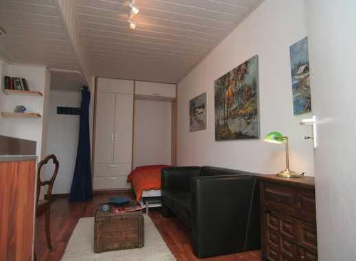 Wohnen auf Zeit nahe Nieder-Olm/ Wörrstadt: 20-qm-Apartment in idyllischer Hofreite provisionsfrei