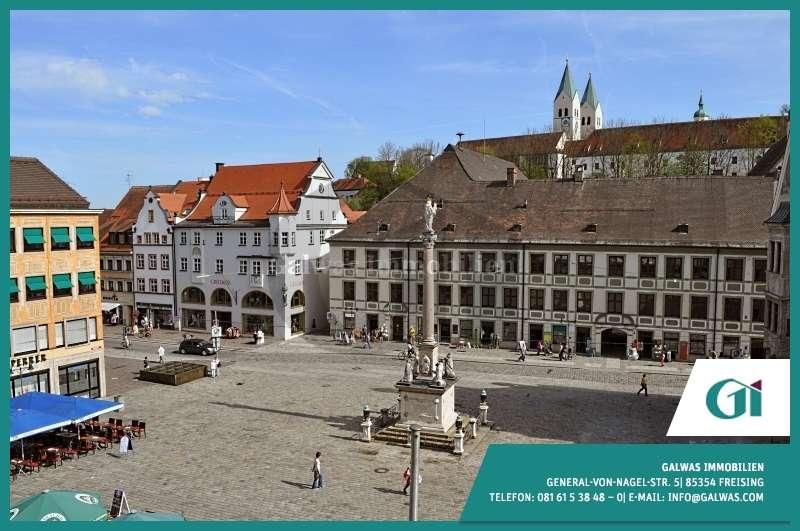 GI** Zentrales 1-Zi.-App. in der Freisinger Altstadt in