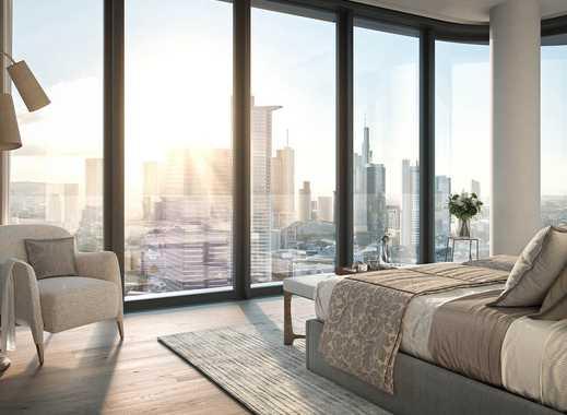 Die einzigartige Aussicht über Frankfurt genießen! High-End-Penthouse mit erstklassiger Ausstattung
