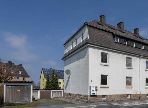 Mehrfamilienhaus in Schwarzenbach/Saale mit neun Garagen