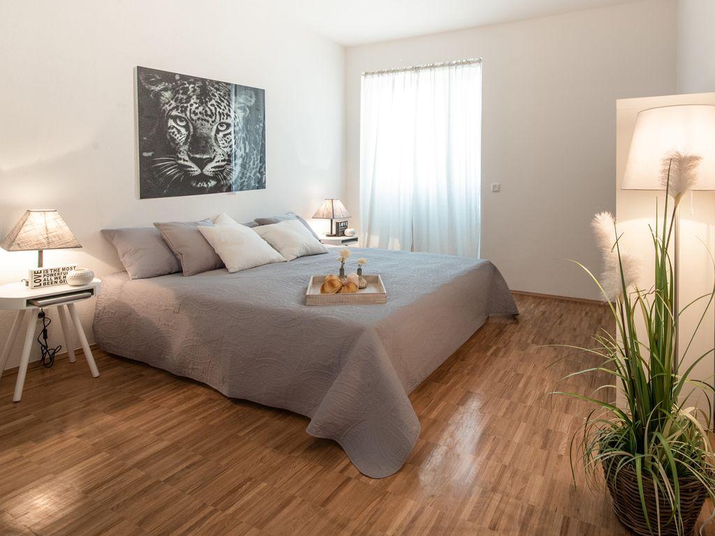 Schlafzimmer Musterwohnung