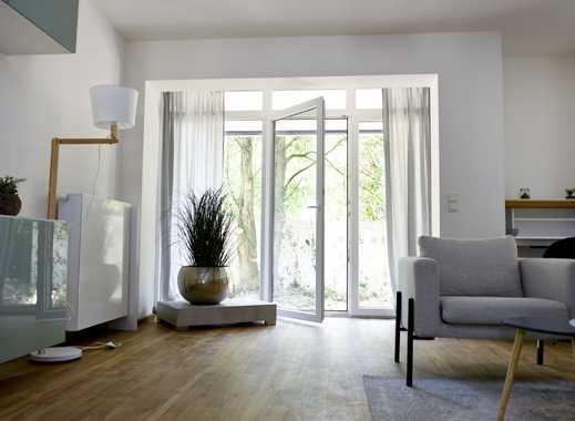 Erstbezug nach Modernisierung: Stilvolle Wohnung mit Terrasse und Garten!