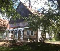 Kleiner vierseitiger Resthof Fachwerk in
