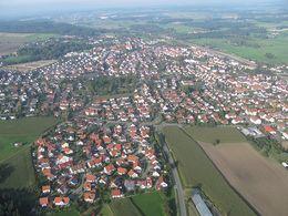 Luftaufnahme Aulendorf