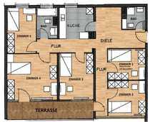 Sanierte 5-Zimmer-Wohnung in Innenstadtlage mit