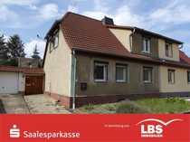 Geräumige Doppelhaushälfte in Schraplau