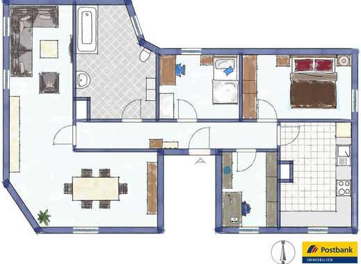 3,5 Zimmer im Zentrum der Stadt