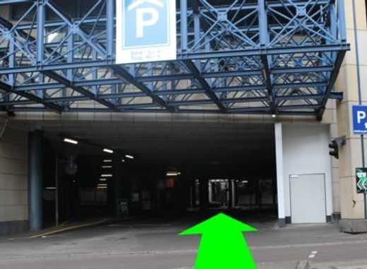 Parkhaus-Stellplatz am Hauptbahnhof Saarbrücken