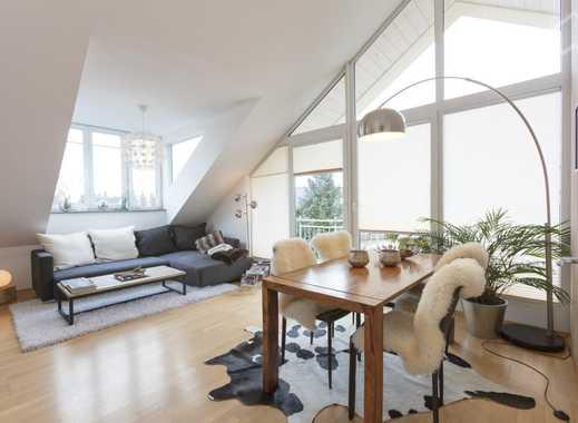 Lichtdurchflutete  und stylisch möblierte Traum-Dachgeschoss-Wohnung