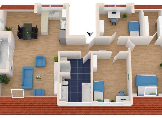 Neubau Erstbezug 4 Zimmer Dachgeschosswohnung DA Wixhausen