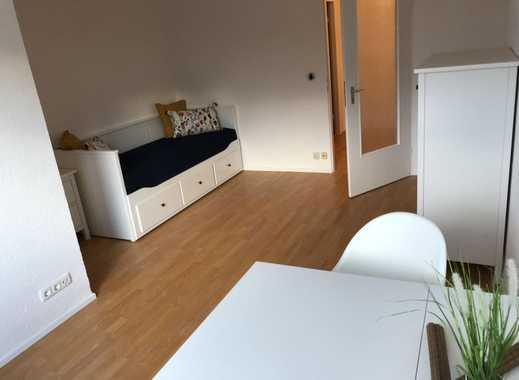 Möbilierte 1-Zimmer-Wohnung mit Balkon und EBK in Milbertshofen, München
