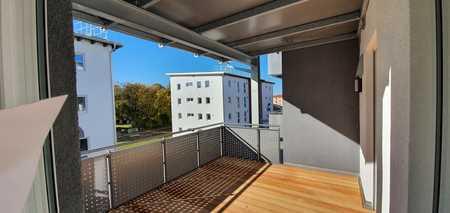 ... Neubau - 2-Zimmer-Wohnung mit großem Balkon und EBK in Mühldorf-Nord... in Mühldorf am Inn