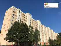Große 1-Raumwohnung mit Balkon und