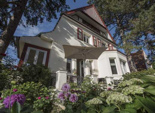 HAUS & GRUNDEIGENTUM: Badenstedt: Luxuriös sanierte Villa mit modernem Praxisanbau