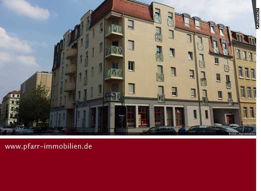 Dresden - Friedrichstadt - Attraktive  2-Raum-Wohnung mit Laminat und Balkon!