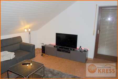 Attraktive 2 Zi.-Dachgeschosswohnung mit Balkon, Küche mit Einbauküche in Bad Bocklet