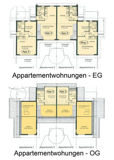Appartmenthaus EG+OG