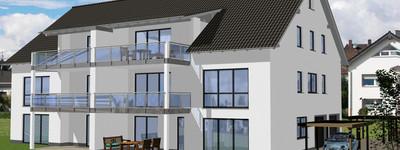 Minden-Bölhorst, Neubau-Terrassenwohnung mit Garten, 114 m²