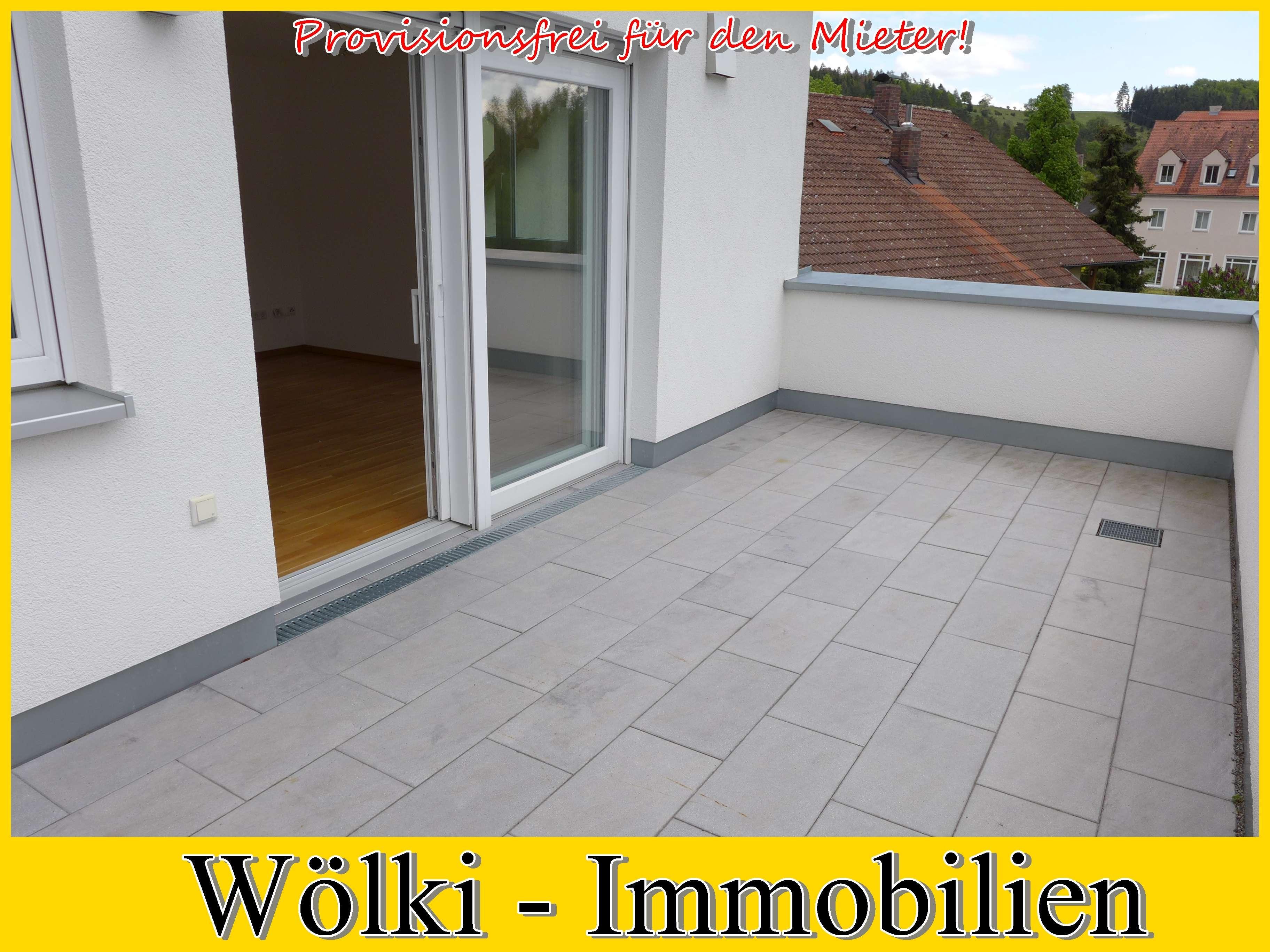 2 Zimmer - Wohnung mit hochwertige Ausstattung und mit großer Dachterrasse
