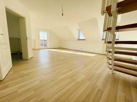 Erstbezug nach Sanierung: ansprechende 3-Zimmer-Wohnung mit Einbauküche und Balkon in Abensberg in Abensberg