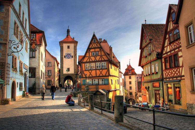 Schöne Etagenwohnung zentral gelegen in Rothenburg ob der Tauber