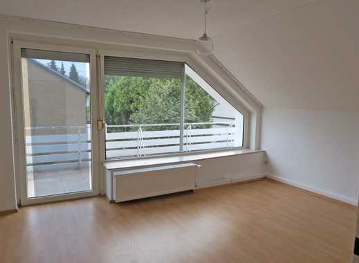 Helle 2 Zimmer Dachgeschoss Wohnung Mit Großem Südbalkon In Bad  Oeynhausen Südstadt