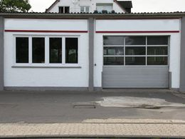 ... die Außenfassade