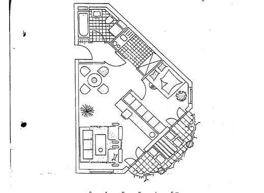 Erstbezug nach Sanierung mit Einbauküche und Balkon: exklusive 2-Zimmer-Wohnung in Darmstadt