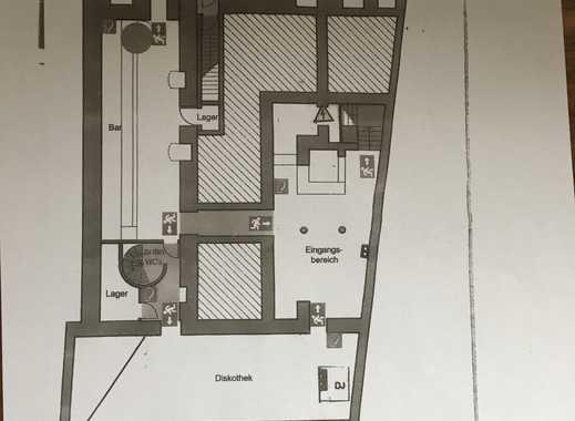470 qm*OHNE Abstand*UG im Geschäftshaus*Nutzung als Club, Bar*opt. Parkplatz*Toplage Hauptwache*