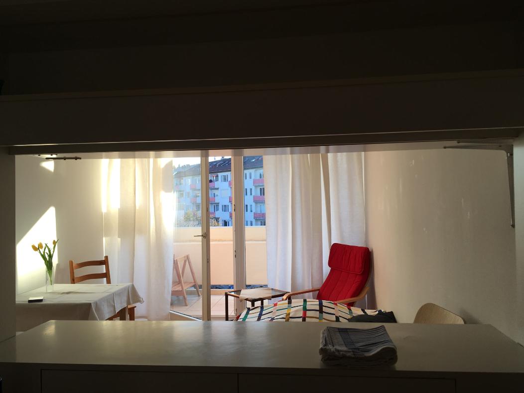 Exklusive 1-Zimmer-Wohnung mit Balkon und EBK in Schwabing, München in Schwabing (München)