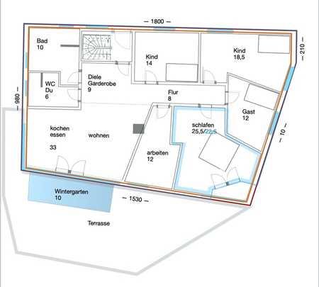 baubiologisch hochwertige 6-Zimmer-Wohnung in Prien am Chiemsee, KfW40 in Prien am Chiemsee