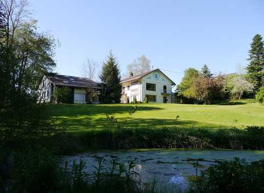 Großes Anwesen auf großem Grundstück südlich von Kempten