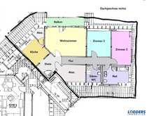Größzügige 3-Raum- Wohnung im Dachgeschoss