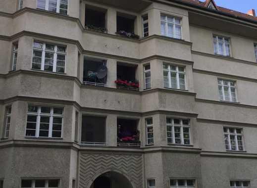 Teilmöblierte 3,5-Zimmer-Wohnung in Berlin-Friedenau