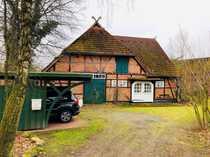 Uriges denkmalgeschütztes Niedersachsenhaus in Oerrel
