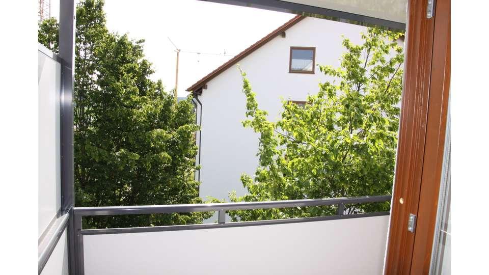 Ausblick von Balkon